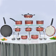 20 Pcs Colored Cookware Set