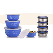 8 Advanced Stainless Steel Store & Serve Set