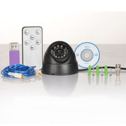 Advanced CCTV Dome Camera (Rewind & Forward with Remote)