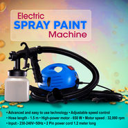 Electric Spray Paint Machine