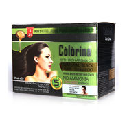 Colorina 5 Minutes Instant Hair Colour Shampoo with Comb & Hair Serum