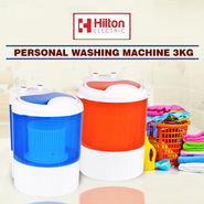Hilton Personal Washing Machine 3Kg
