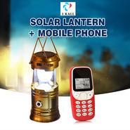 I Kall Solar Lantern + Mobile Phone
