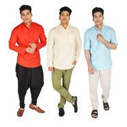 Mr. Tusker Pack of 3 Kurta for Men (K3L2)