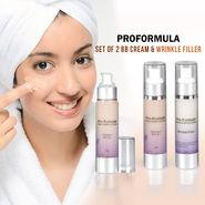 Proformula Set of 2 BB Cream & Wrinkle Filler