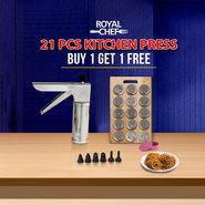Royal Chef 21 Pcs Kitchen Press - Buy 1 Get 1 Free