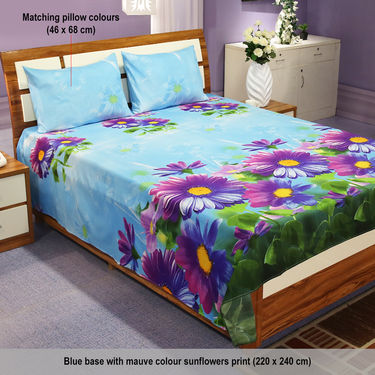 Delightful Pack of 5 - 3D Bedsheets (5BS18)