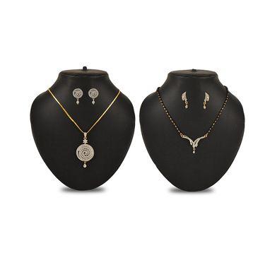 5 Pcs American Diamond Jewellery Collection