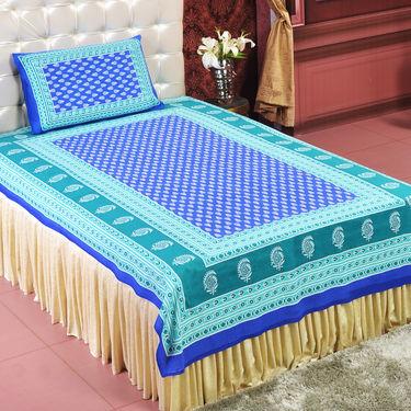 Jaipuri 4 Double 4 Single Bedsheets (4DSBS12)