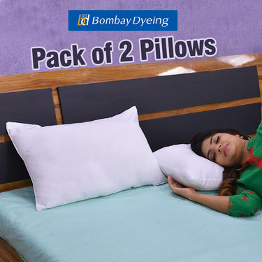 Bombay Dyeing Pack of 2 Pillow Fillers