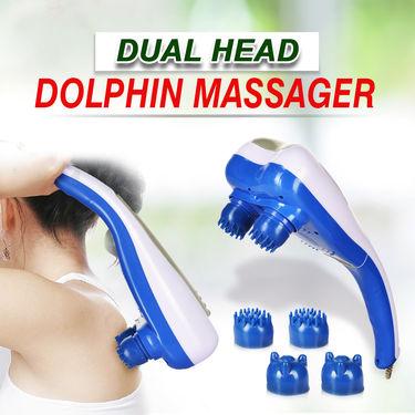Dual Head Dolphin Massager