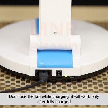 Folding Fan with LED Light