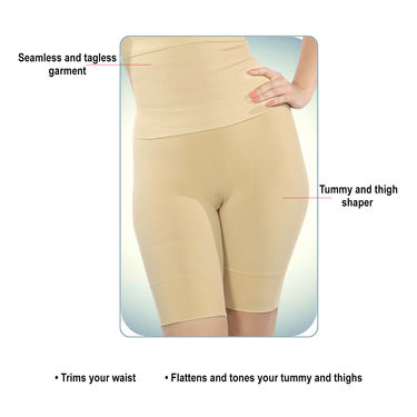 Get in Shape Magic Bra with Belt & Thigh Shaper