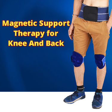 Magnetic Support Therapy for Knee And Back