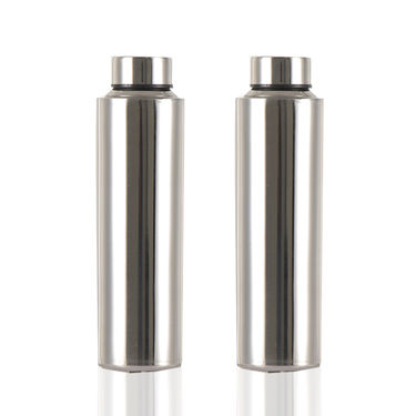 Pack of 2 Stainless Steel Water Bottles