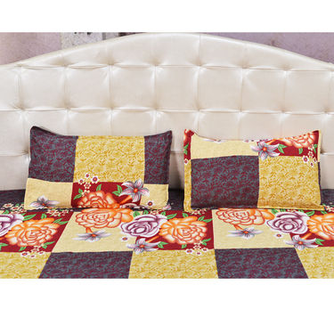 Pack of 7 Double Bed Sheet Set (7BS3)