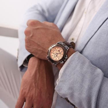 Scottish Club Set of 3 Men's Leatherite Watch Combo
