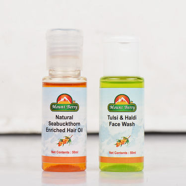 Seabuckthorn Face And Hair Care Combo