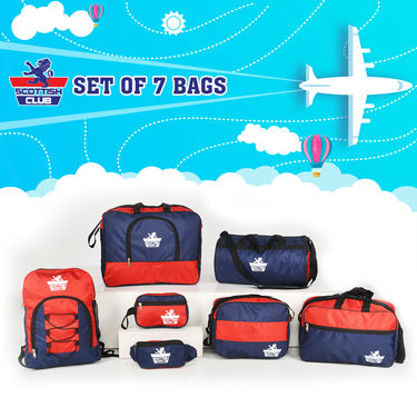 Scottish Club 7 Pcs Complete Travel Solution (LW1)