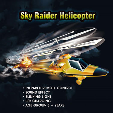 Sky Raider Helicopter