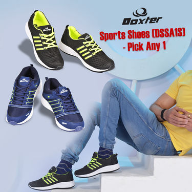 Doxter Sports Shoes (DSSA1S) - Pick Any 1