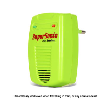 SuperSonic Colourful Insect & Pest Repellent - Pack of 2