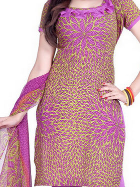 Pack of 4 Stylish Churidar Dress Materials by Variation